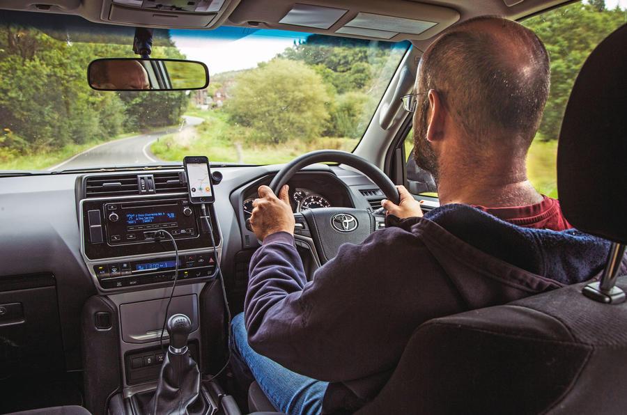 Toyota Land Cruiser Utility 3dr 2018 long-term review - Matt Prior driving