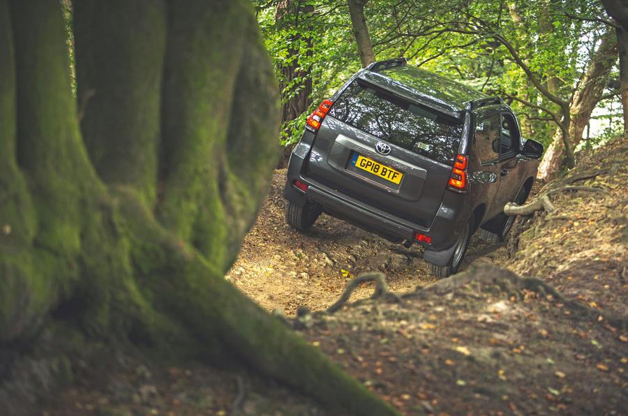 Toyota Land Cruiser Utility 3dr 2018 long-term review - hero rear
