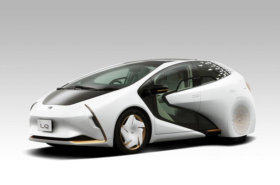 2019 Toyota LQ concept - Tokyo motor show