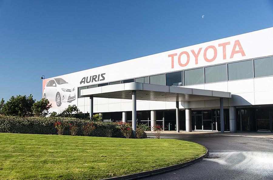 Toyota factory Burnaston