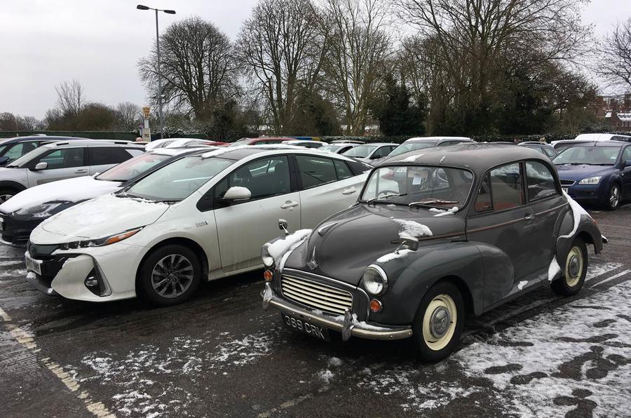 Toyota Prius PHEV longterm review classic parking