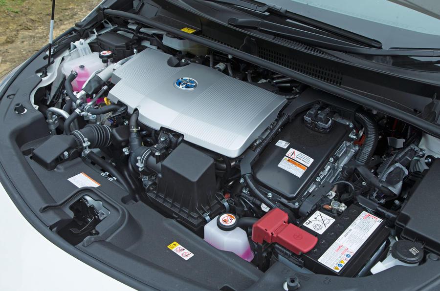 1.8-litre Toyota Prius PHEV petrol engine