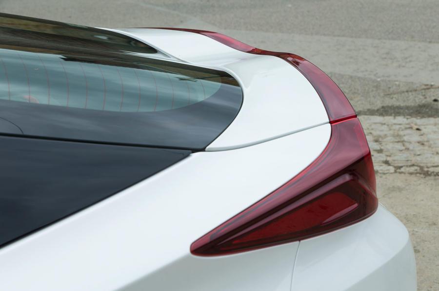 Toyota Prius PHEV rear spoiler