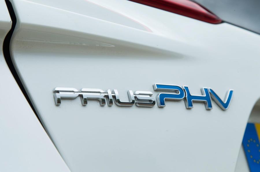 Toyota Prius PHEV badging