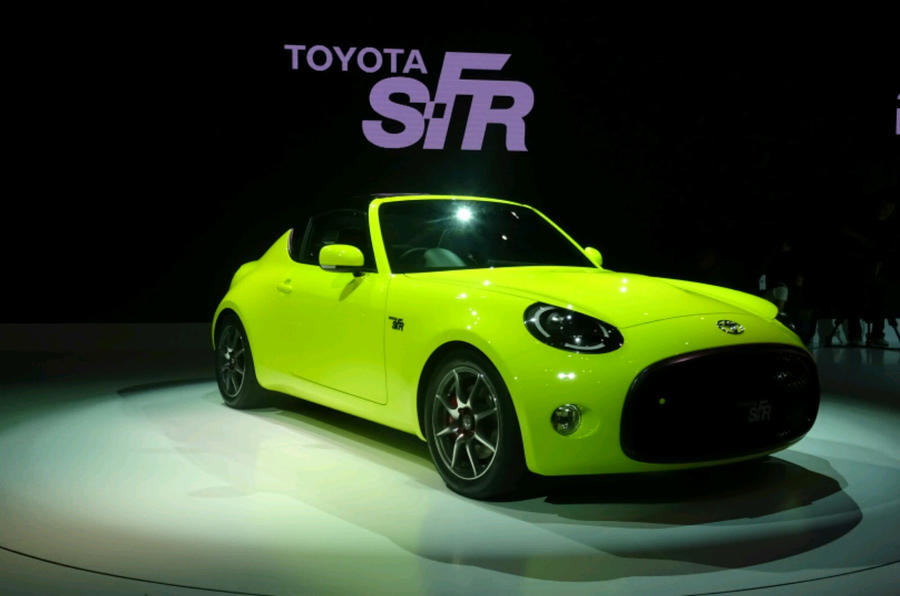 Toyota SFR sports car concept  technical specifications leaked