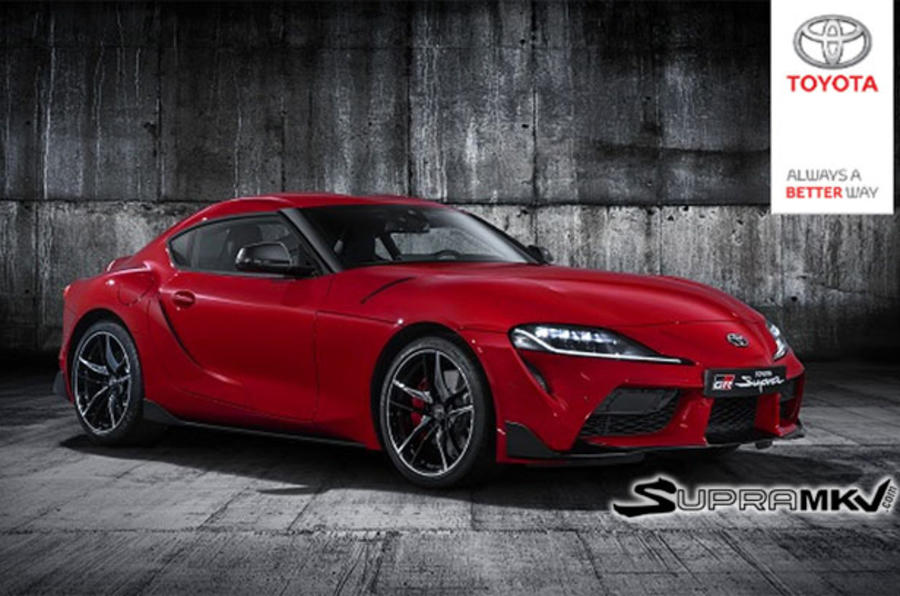 New 2019 Toyota Supra Official Reveal Video Leaked Autocar