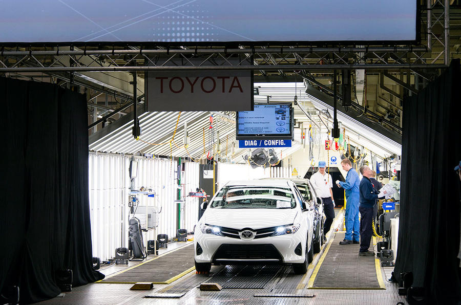 Toyota Auris at the Burnaston plant