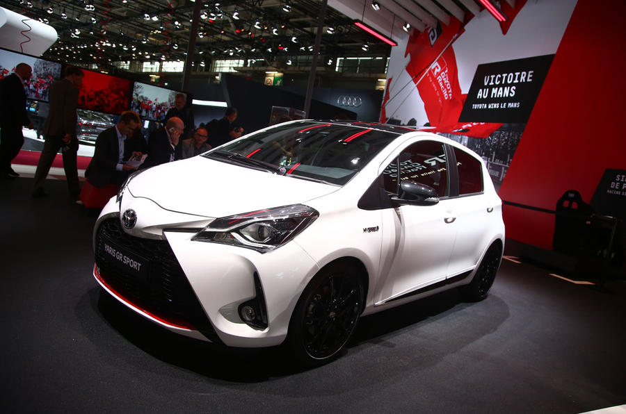 Toyota Yaris GR Sport Unveiled At Paris Motor Show Autocar - Toyota show car