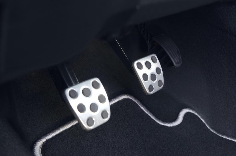 Toyota Yaris GRMN alloy pedals