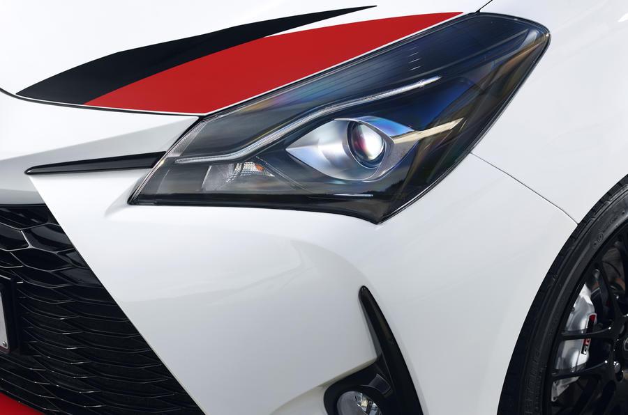 Toyota Yaris GRMN headlights
