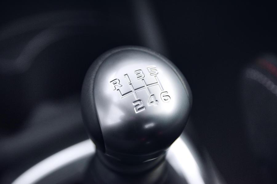 Toyota Yaris GRMN manual gearbox