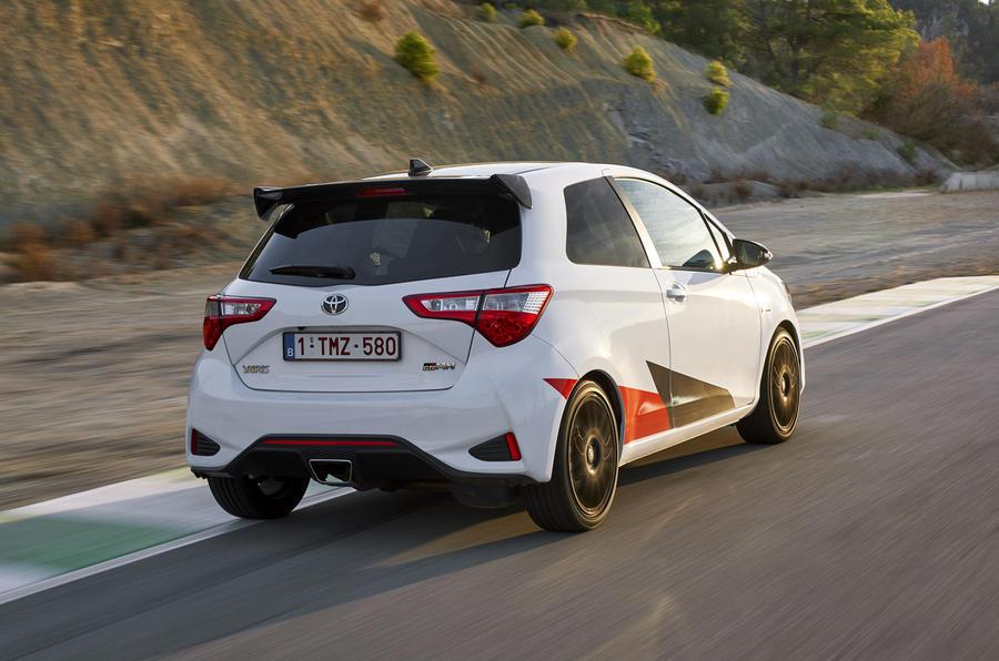 Toyota Yaris GRMN rear