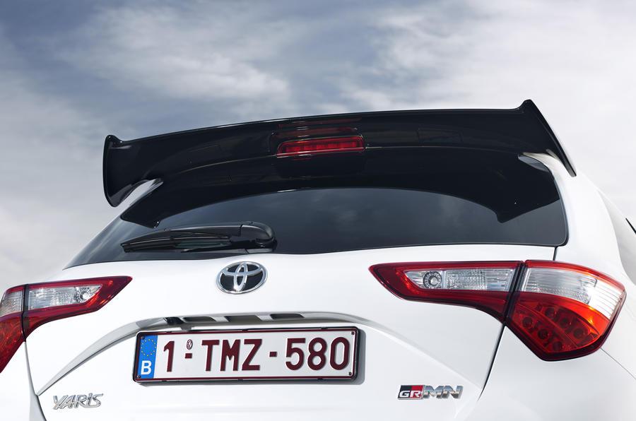 Toyota Yaris GRMN rear spoiler