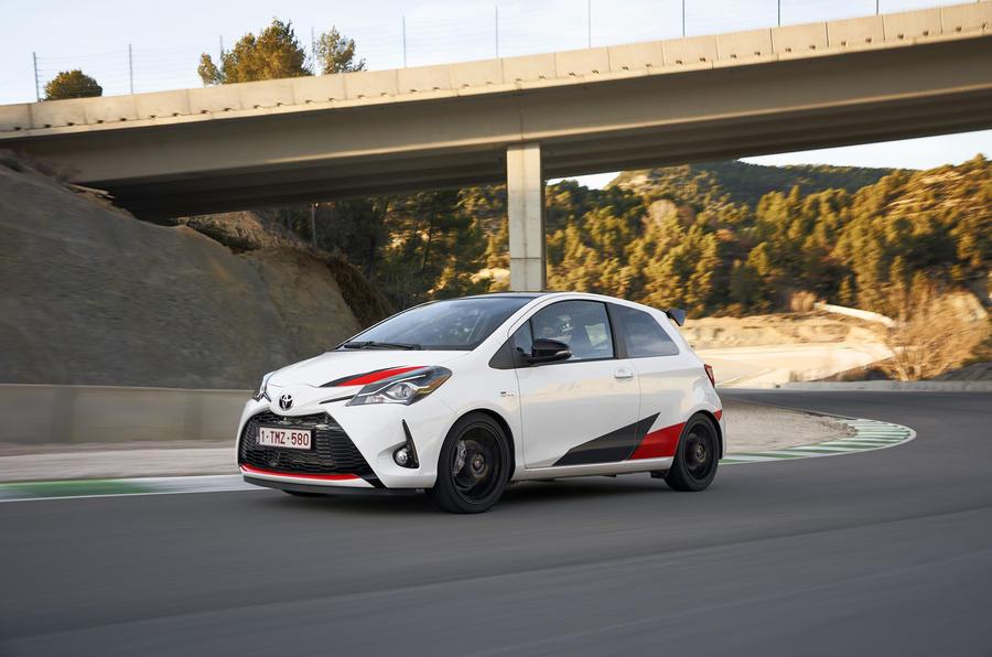3.5 star Toyota Yaris GRMN