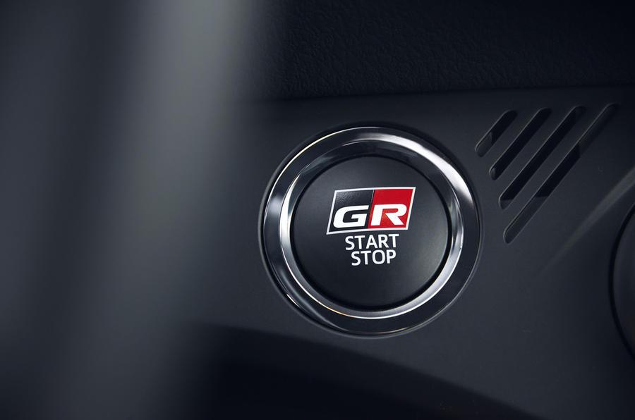 Toyota Yaris GRMN start-stop system