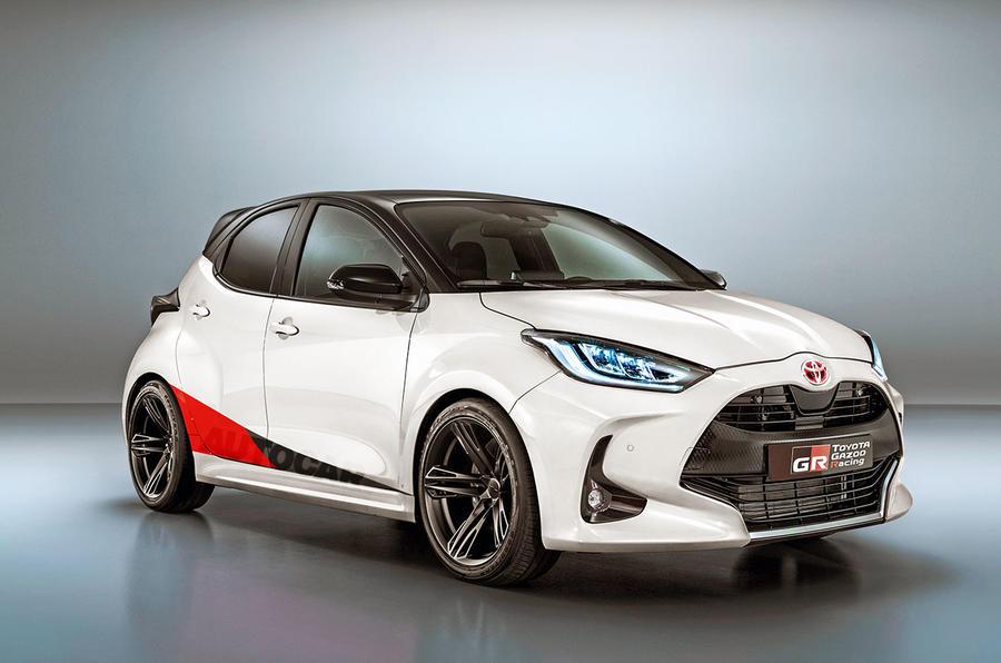Toyota Yaris render