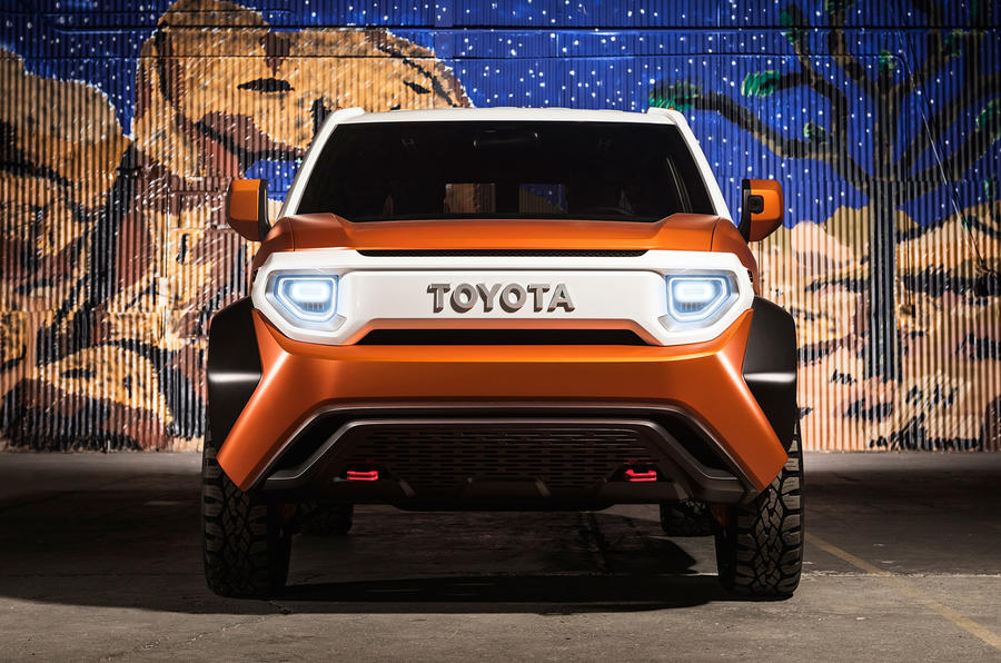 toyota ft 4x revealed in new york as urban suv concept autocar. Black Bedroom Furniture Sets. Home Design Ideas
