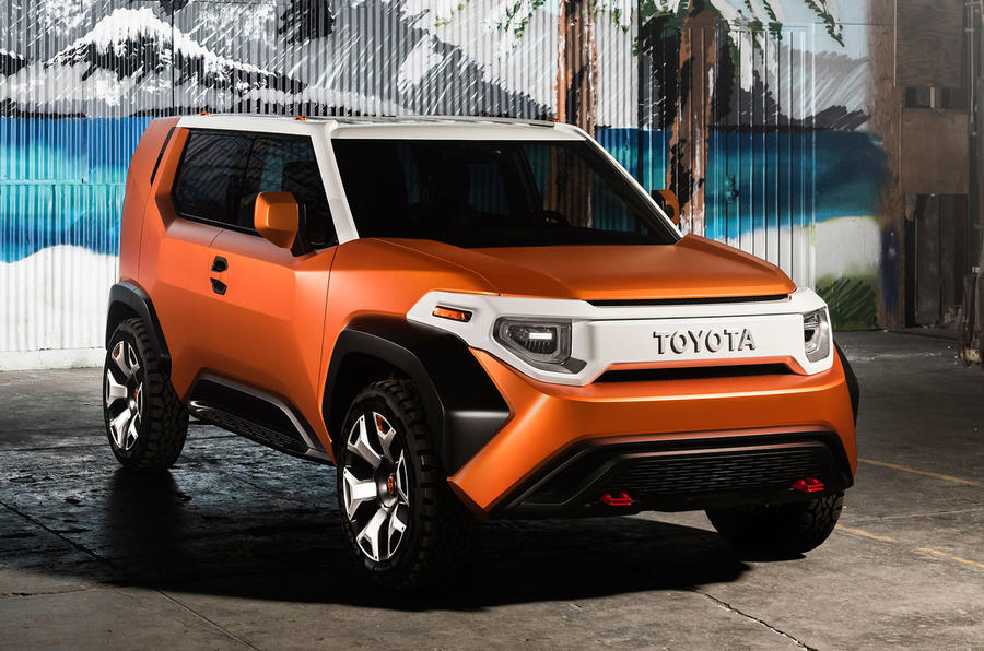 Toyota Ft 4X >> Toyota Ft 4x Revealed In New York As Urban Suv Concept Autocar