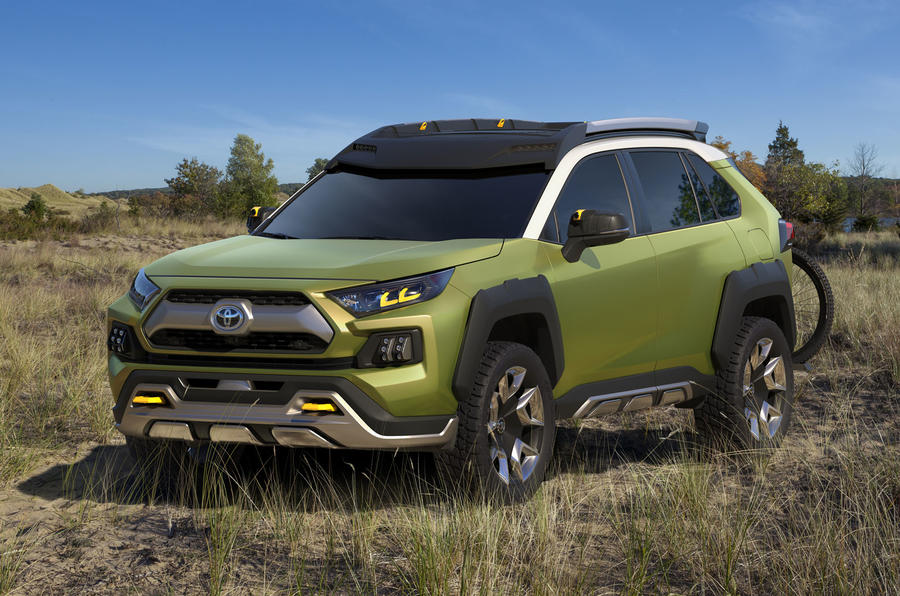 Future Toyota Adventure Concept points to high-tech SUV future