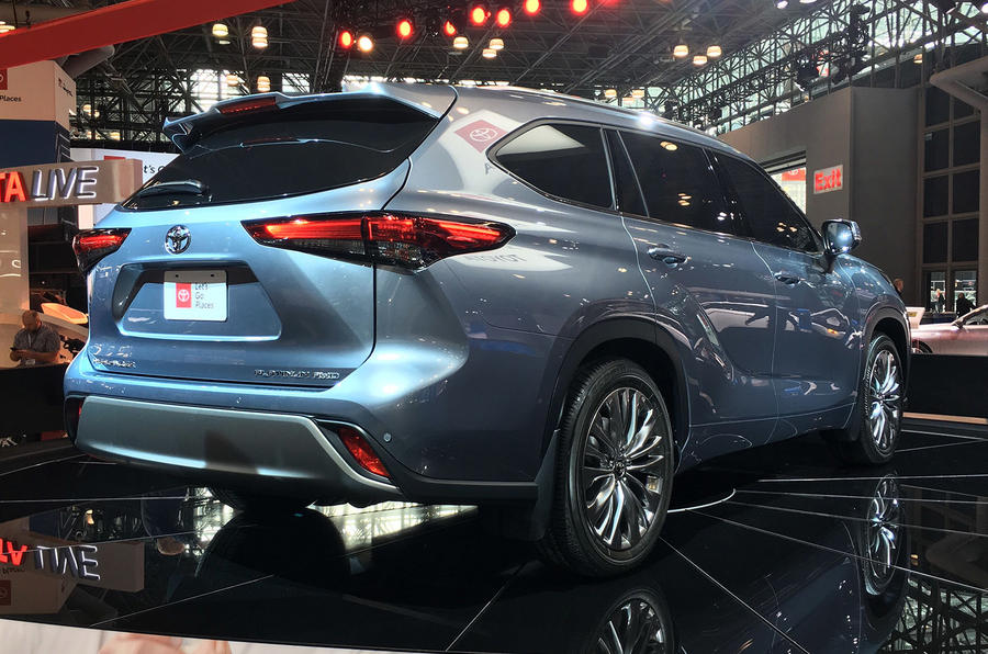 Toyota Highlander - New York Motor Show 2019 - rear
