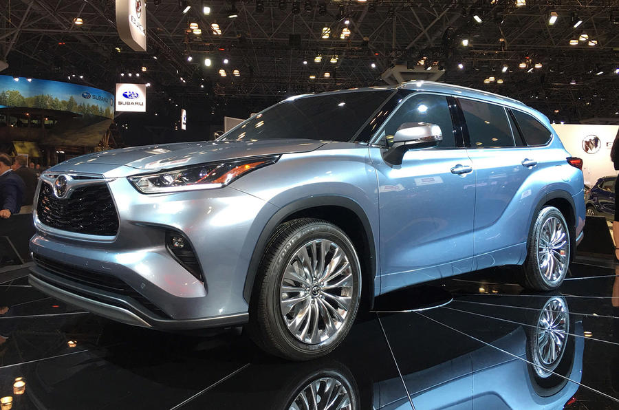 Toyota Highlander - New York Motor Show 2019 - side