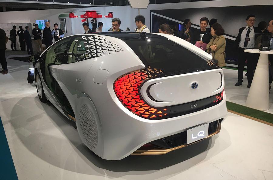 Toyota LQ at Tokyo 2019 - rear