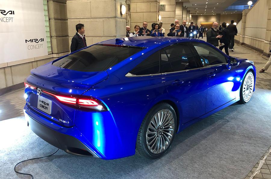 Toyota Mirai concept at Tokyo motor show - rear