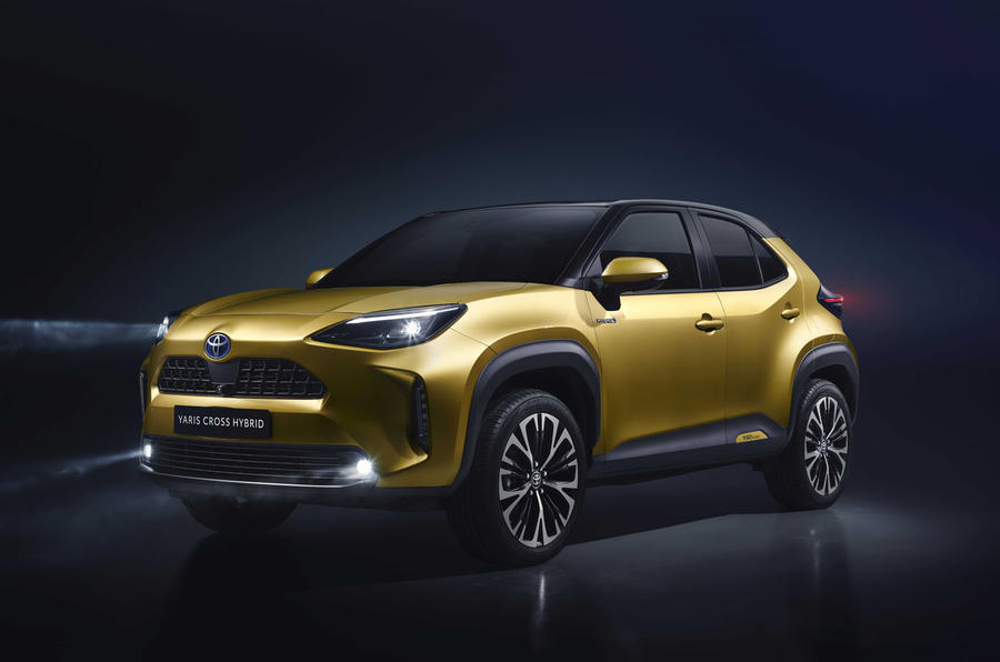 2020 Toyota Yaris Cross official image - front left