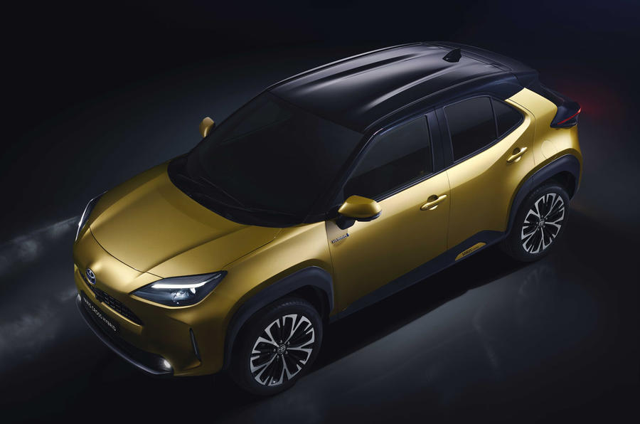 2020 Toyota Yaris Cross official image - high front left