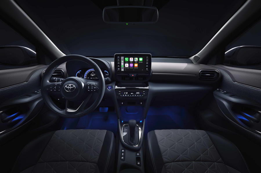 2020 Toyota Yaris Cross official image - interior