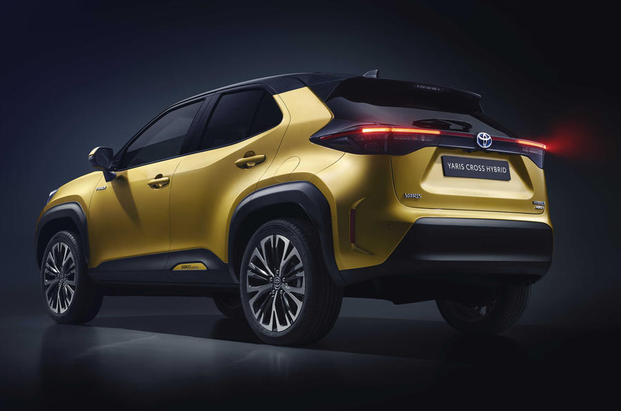2020 Toyota Yaris Cross official image - rear left