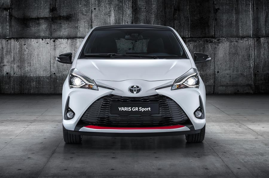 Toyota Yaris GR Sport official reveal nose