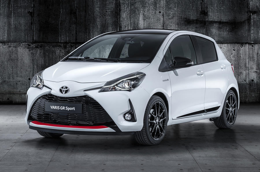 Toyota Yaris GR Sport official reveal front