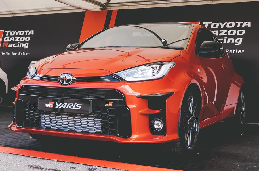 2020 Toyota GR Yaris at Goodwood Speedweek