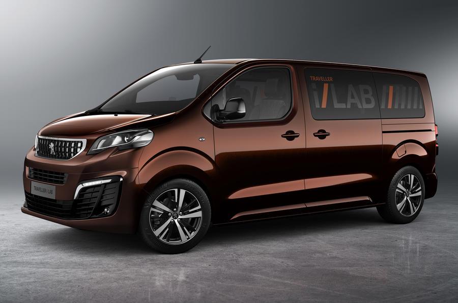 Peugeot Traveller i-Lab Geneva