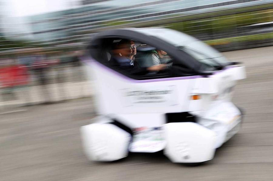 TS Catapult driverless pod