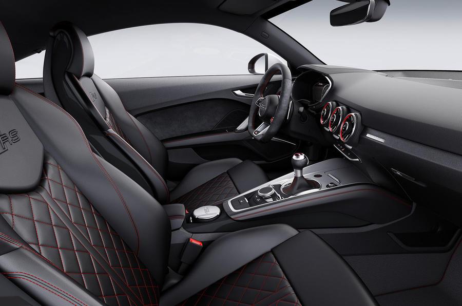 2016 Audi Tt Rs Guns For Porsche Cayman S With 163 51 800