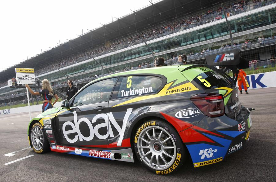 Colin Turkington claimed his second BTCC title in a 125i M Sport in 2014, taking eight wins during the season