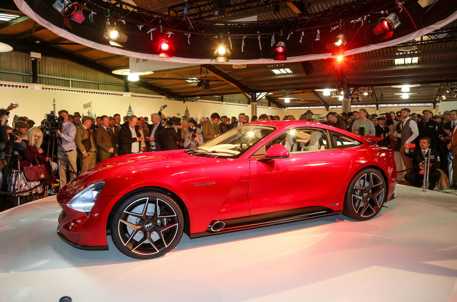 500bhp tvr griffith revealed at goodwood revival autocar autos post. Black Bedroom Furniture Sets. Home Design Ideas