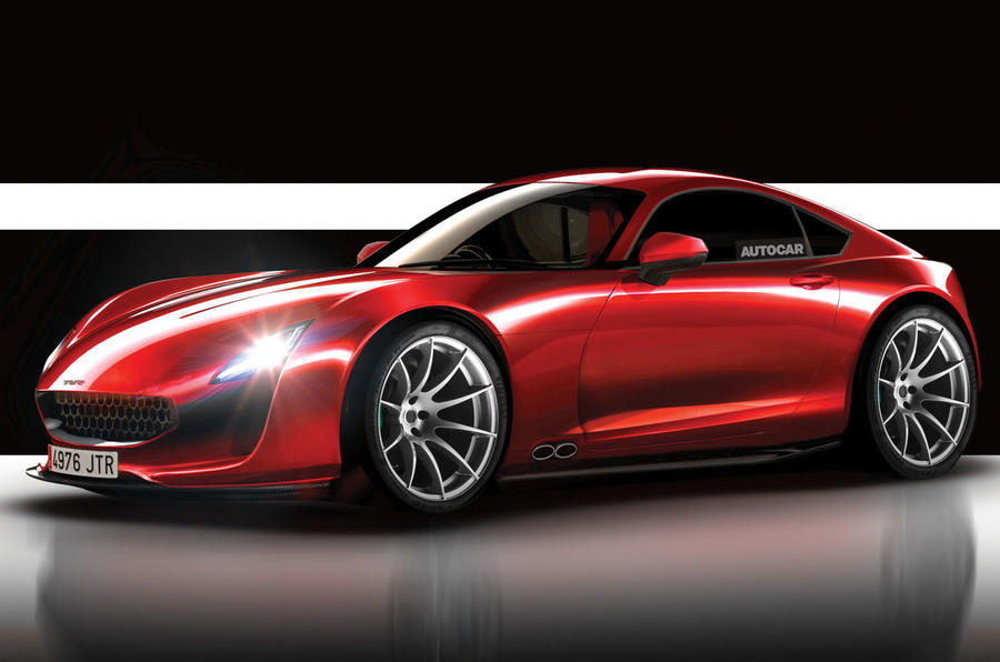 TVR's Upcoming Sports Car Could Be Called The Griffith