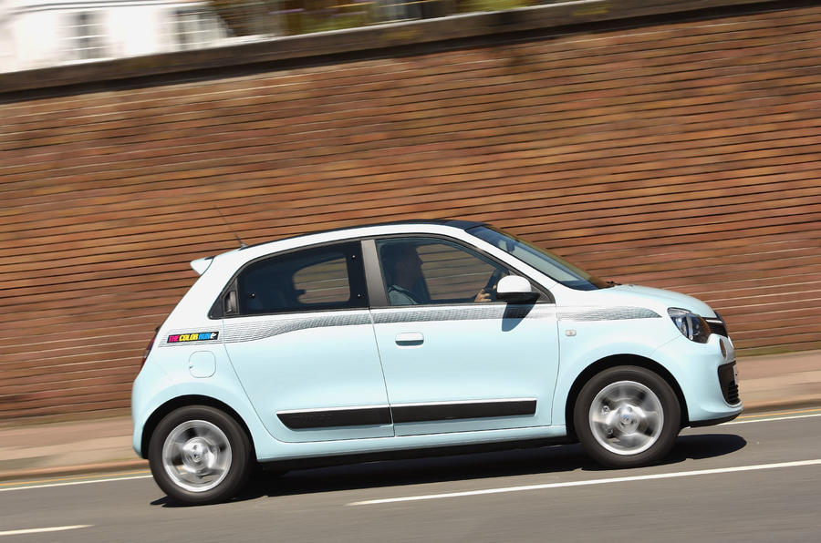 Renault Twingo side profile