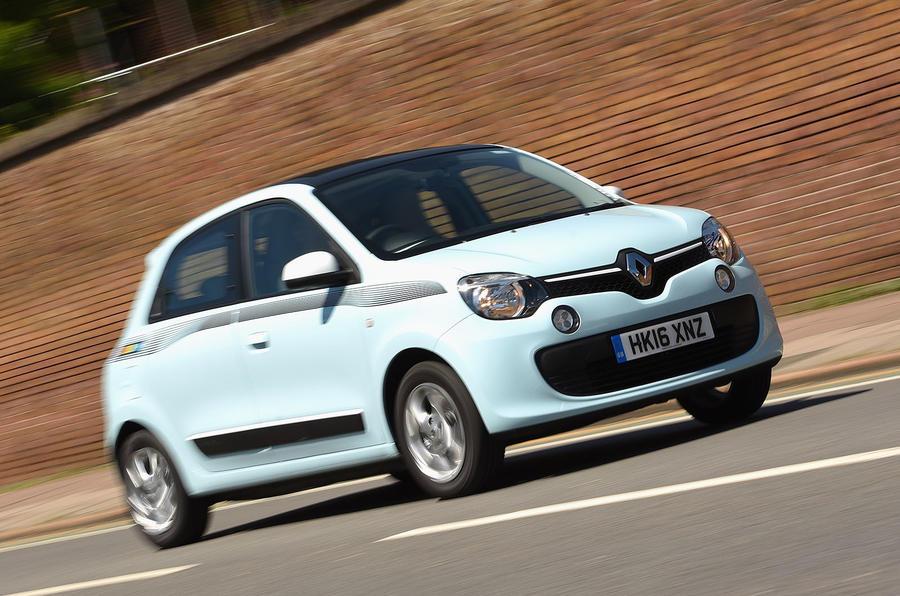 Renault Twingo front quarter
