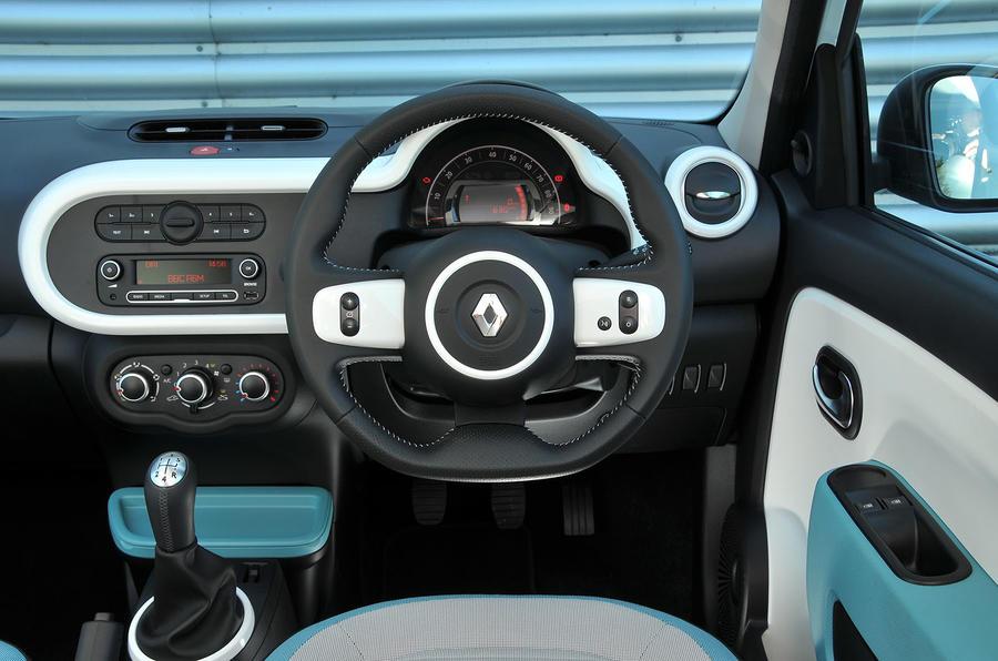 Renault Twingo dashboard