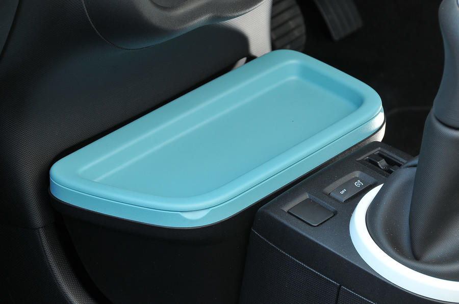 Renault Twingo coin holder