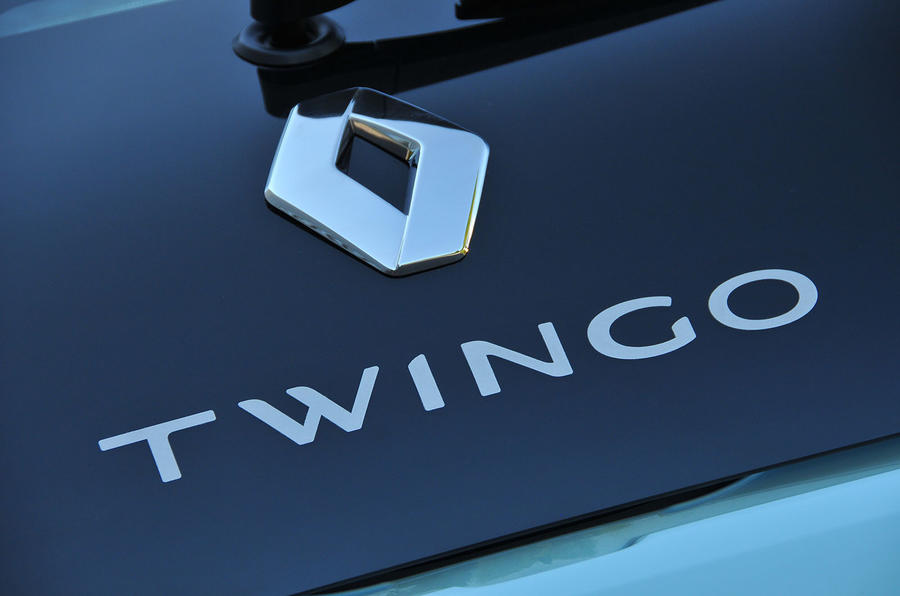 Renault Twingo badging