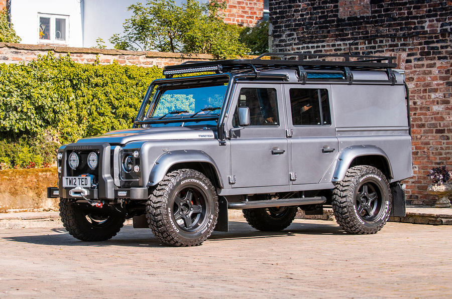 Twisted Defender V8 2018 UK first drive review - on the road front