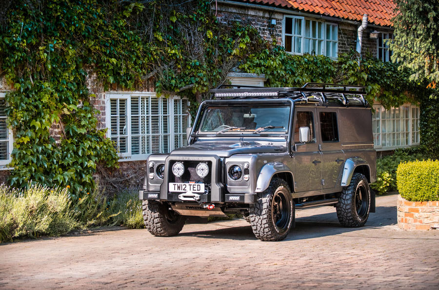 Twisted Defender V8 2018 UK first drive review - static