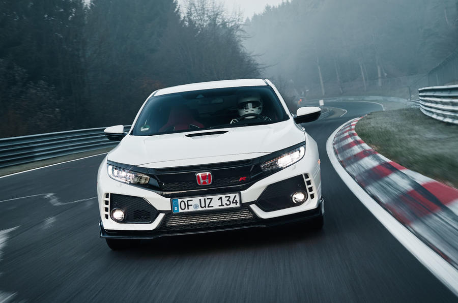 New Honda Civic Type R Sets record At Nürburgring