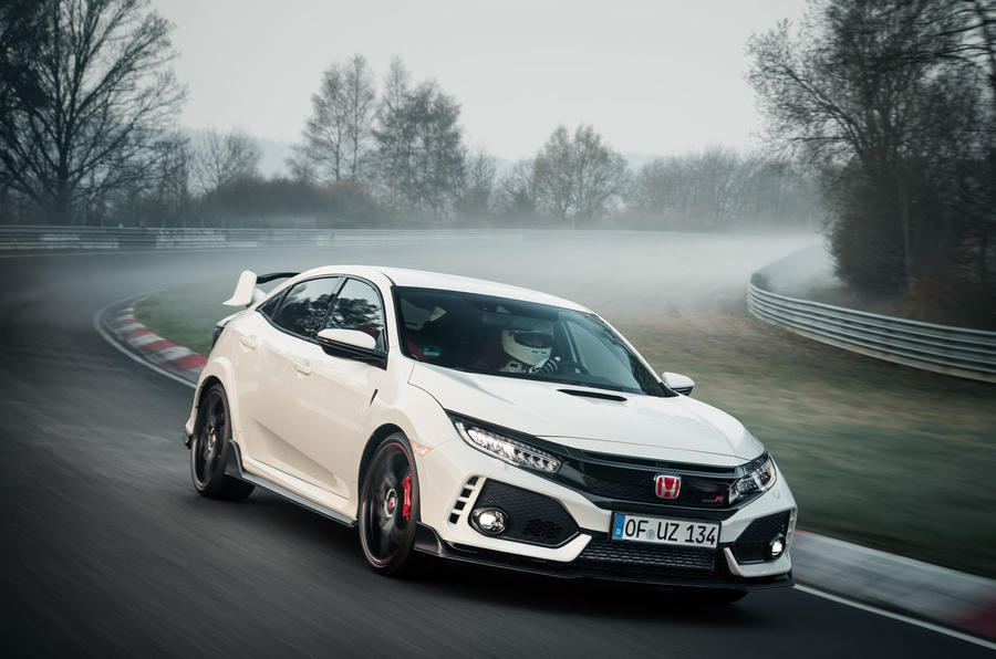 Honda Civic Type R snatches back FWD Nürburgring lap record