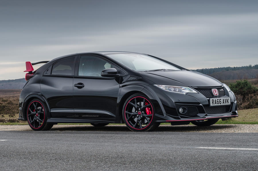 honda civic type r black edition announced autocar. Black Bedroom Furniture Sets. Home Design Ideas